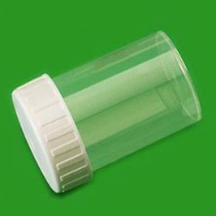 PP 60 ml Storage Containers - supplied with cap